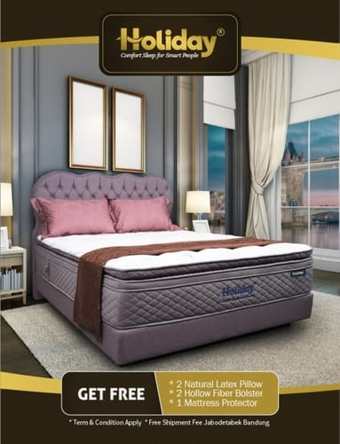 Promo Holiday Springbed